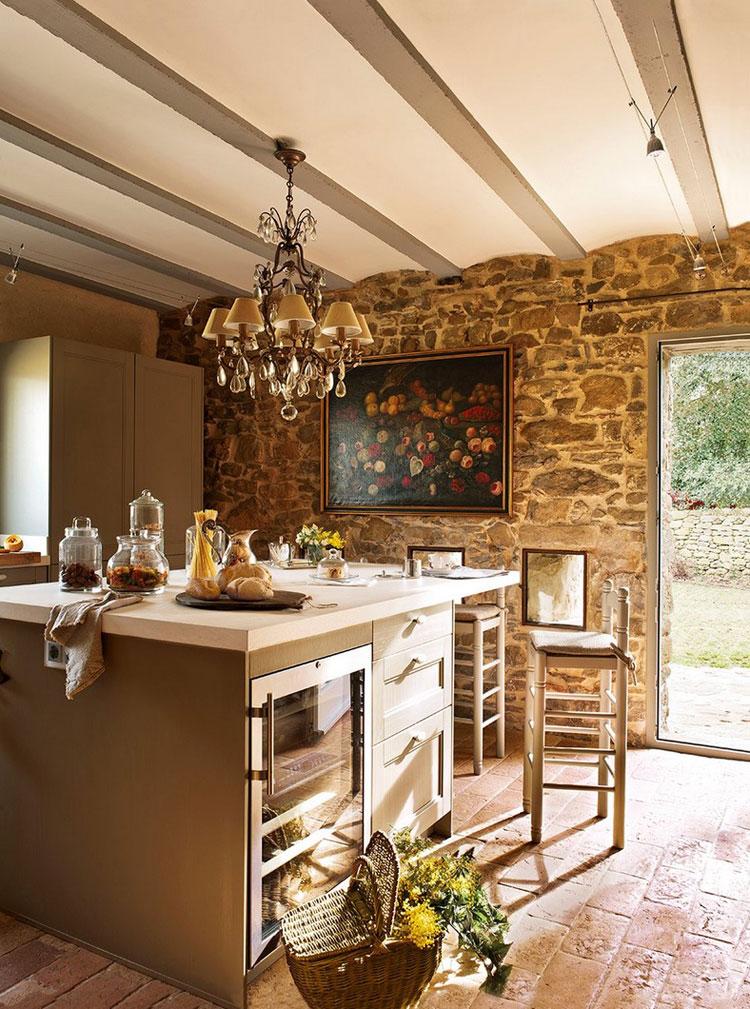 20 Spectacular Interior Stone Wall Design Ideas Designmaz