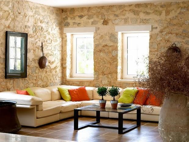 20 Spectacular Interior Stone Wall Design Ideas - DesignMaz