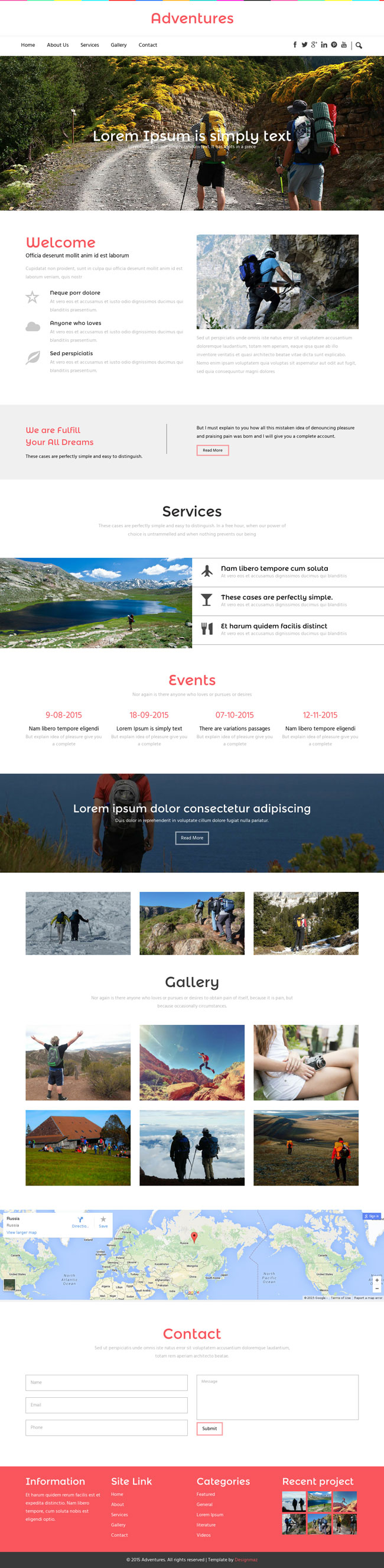 Travel Agency Responsive Html Template Free Download