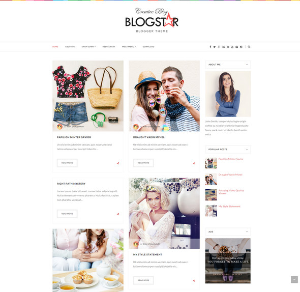 25+ Free Responsive Blogger Templates 2016 | Free Download