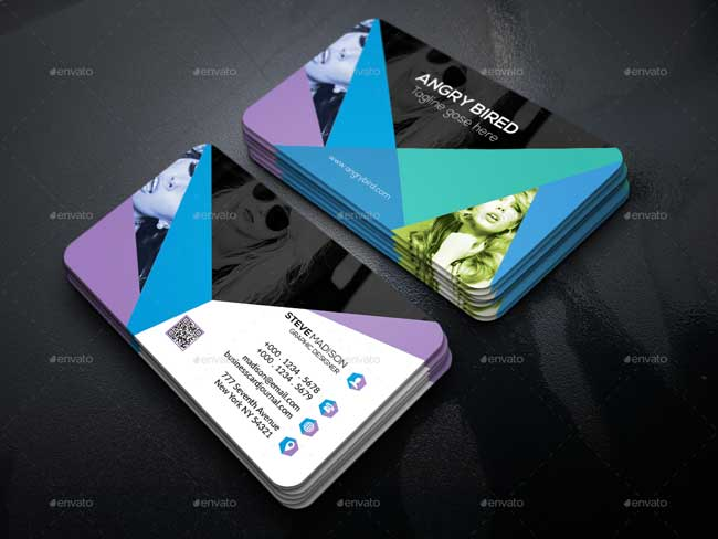 Best Business Card For Photographers Designmaz - Photography business cards templates for photoshop
