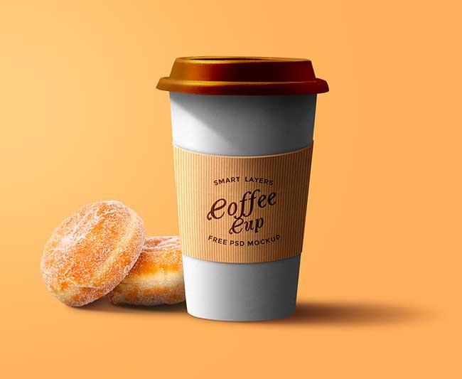 30+ Best Free PSD Coffee Cup Mockups 2017 - DesignMaz
