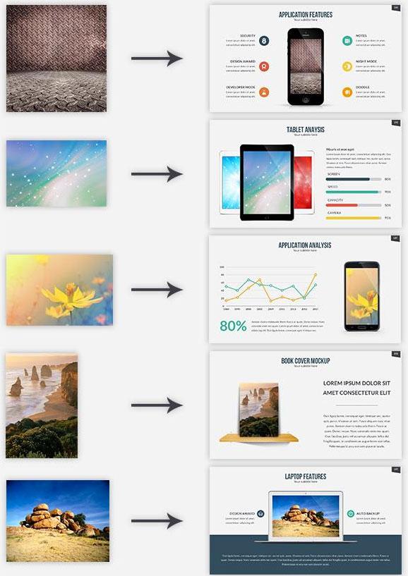 35 amazing powerpoint templates 2017 designmaz revolve multipurpose powerpoint template toneelgroepblik Image collections
