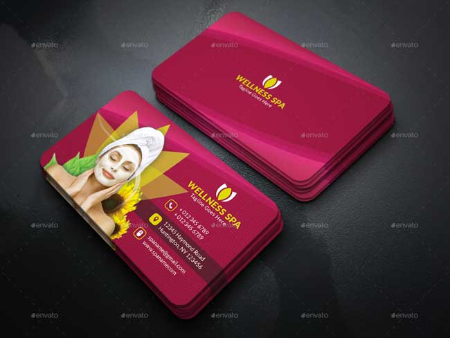 Best Beauty Salon And Spa Business Cards DesignMaz - Beauty salon business cards templates free