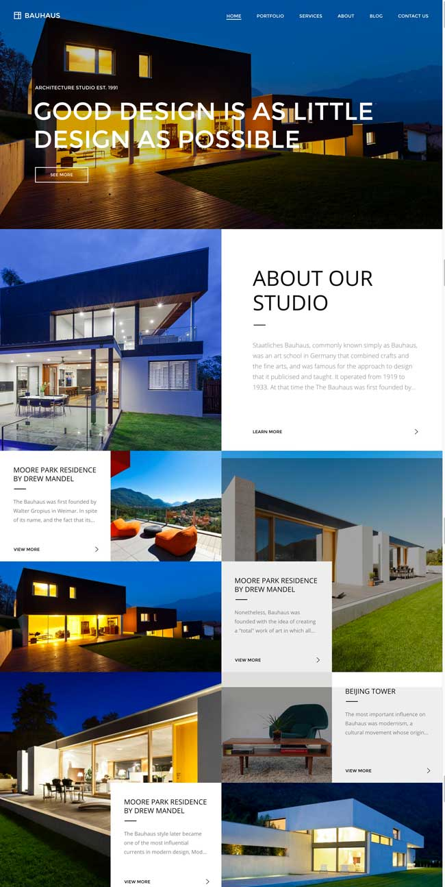 25+ Best Wordpress Themes for Architects, Architecture Firms 2017