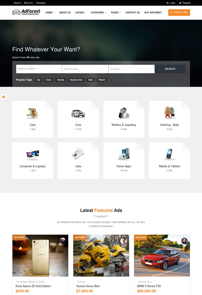 15 Best Classifieds Ads Wordpress Themes 2019 Designmaz
