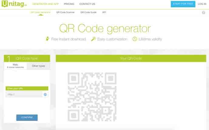 10+ Best Free Online QR Code Generator 2019 - DesignMaz