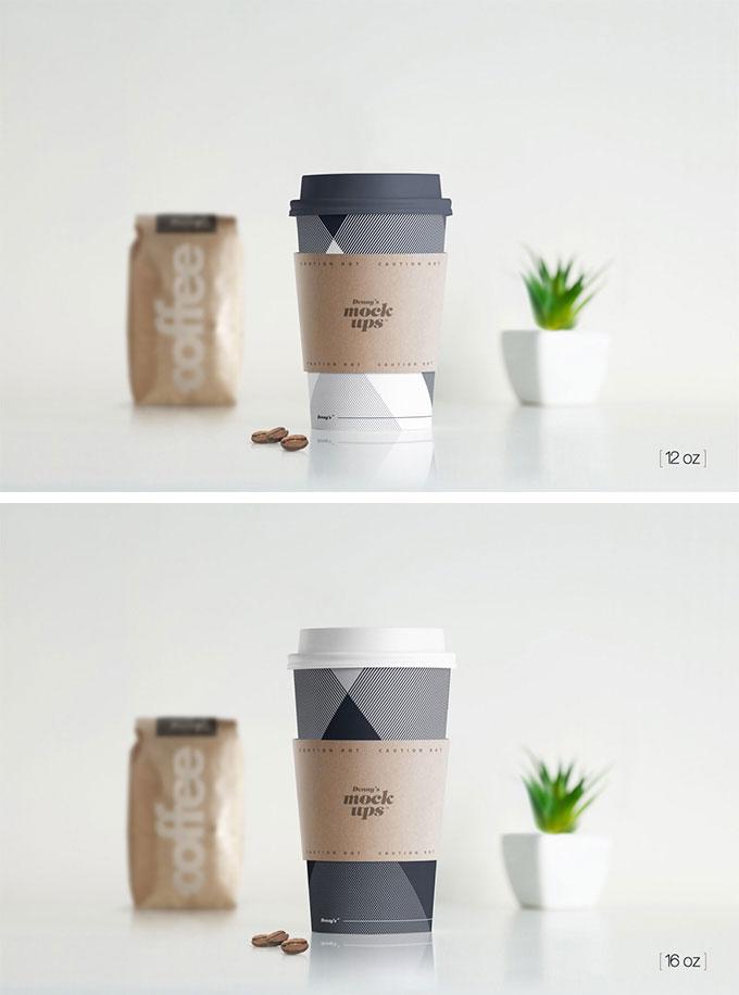30 Best Free Psd Coffee Cup Mockups 2017 Designmaz