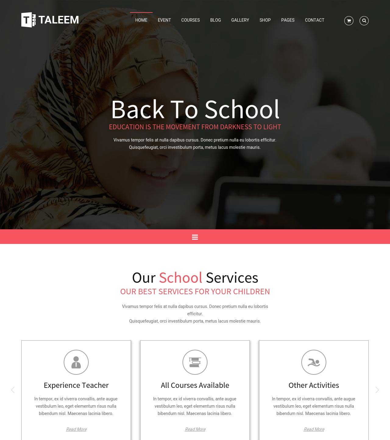 35+ Best Education Responsive HTML Templates for Universities ...