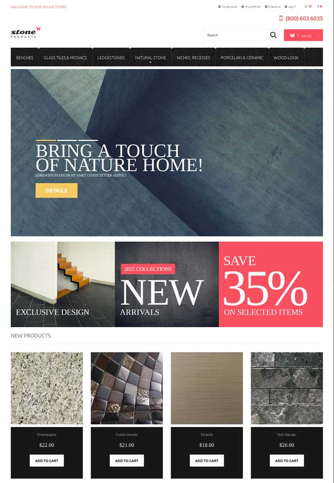 20 Most Popular Interior Furniture Magento Themes 2016