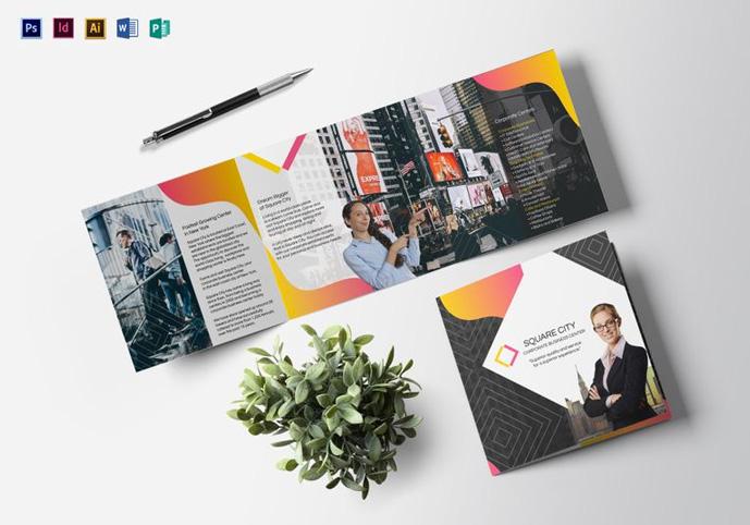 Creative PSD Brochure Templates For Free DesignMaz - Business brochure templates